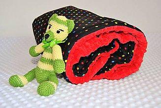 Úžitkový textil - Dečka s minky - 7110082_