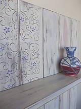 Nábytok - Polička - ornament - 7111554_