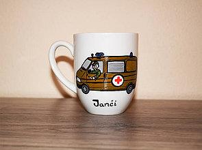 Nádoby - Janči, vojenský záchranár - 7110653_