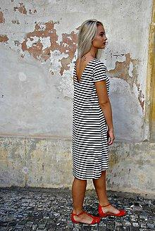 Šaty - Bamboo šaty Dorothea s krátkým rukávem - 7111899_