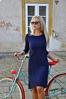 Šaty - Bamboo šaty Amabile tmavěmodré - 7112023_