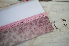 Papiernictvo - Scrapbook obálka na peniaze - svadobná - 7113122_