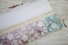 Papiernictvo - Elegantná obálka na peniaze - 7113204_