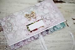 Papiernictvo - Elegantná obálka na peniaze - 7113205_