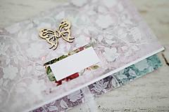 Papiernictvo - Elegantná obálka na peniaze - 7113206_