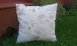 Úžitkový textil - Obliečka na vankúš - 7110920_