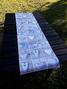 Úžitkový textil - STŘEDOVÝ BĚHOUN ...33 x 130 cm - 7111990_