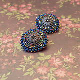 - Melange earrings- vyšívané náušnice  - 7110942_