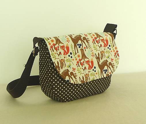 da53f8796 Detská kabelka č.14 / LEANS - SAShE.sk - Handmade Detské tašky