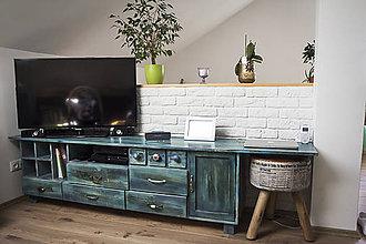 Nábytok - Tv stolik č . 14 - 7110646_