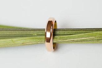 Prstene - Obrúčka trojuholníková - skosená - 7111841_
