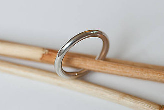 Prstene - Obrúčka kruhová - 7113040_