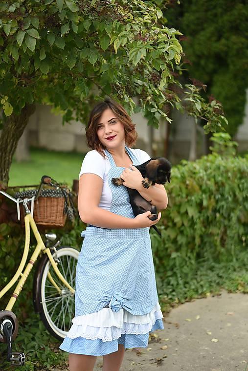 Iné oblečenie - Vintage zástera Záhrada - 7110683_