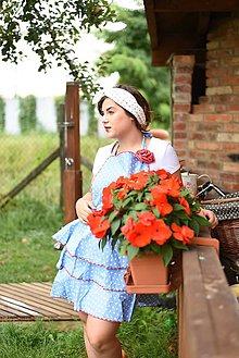 Iné oblečenie - Vintage zástera Bodka - 7110686_