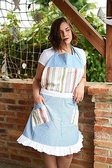 Iné oblečenie - Vintage zástera Gazdinka - 7110724_