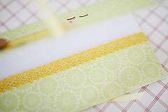 Papiernictvo - Obálka na peniaze - zelená - 7114855_