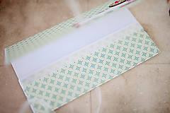 Papiernictvo - Scrapbook obálka na peniaze  - 7114920_