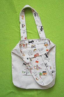 Nákupné tašky - Obojstranná Taška City - 7115279_