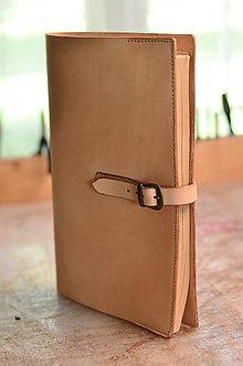 Iné tašky - kožený obal na A4 - 7117199_