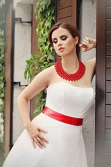 Náhrdelníky - základný perlový náhrdelník podľa želania - 7113972_