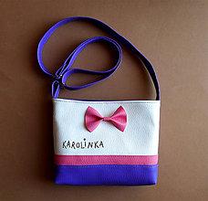 Detské tašky - pre karolínku - 7116306_