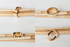 Prstene - Obrúčka obdĺžniková - široká - 7115868_