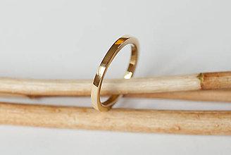 Prstene - Obrúčka štvorcová - 7116938_
