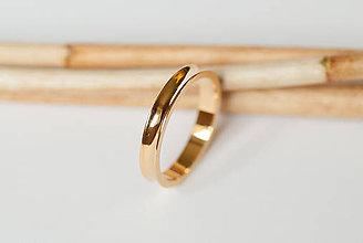 Prstene - Obrúčka obdĺžniková - drážková - 7117508_
