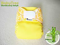Detské doplnky - Summer Juice - Kapsovka s bambusovým dotykom (veľ.S-M-L) - 7115516_