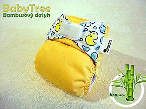 Detské doplnky - Slnečná Kačička - Kapsovka s bambusovým dotykom (veľ.S-M-L) - 7115359_
