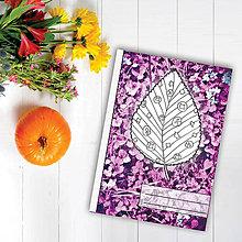 Papiernictvo - Zápisníky Farebná jeseň ((kvety) - list 2) - 7116924_