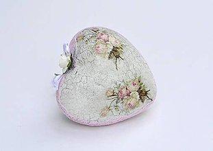 Dekorácie - romantické srdiečko - 7118330_