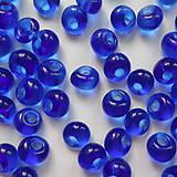 - PRECIOSA Drops 6mm-kobalt-1ks - 7120277_