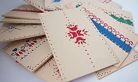 Papiernictvo - Tradičné Slovenské drevené pohľadnice - 7119640_