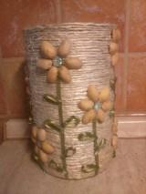Nádoby - Špagátová váza - 7118037_
