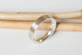 Prstene - Obrúčka polkruhová zvnútra - široká - 7120360_