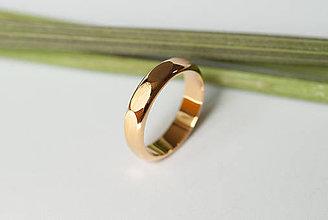 Prstene - Obrúčka polkruhová - desaťhran - 7120628_