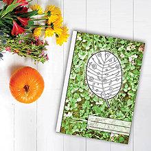Papiernictvo - Zápisníky Farebná jeseň ((kvety) - list 5) - 7118523_