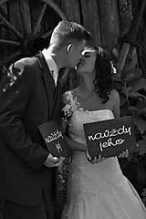 Svadobné tabuľky - set