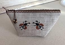Taštičky - kapsička chrobáčiky  (I) - 7122152_