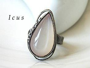 Prstene - Prsteň mesačný kameň - Silerien - 7121432_
