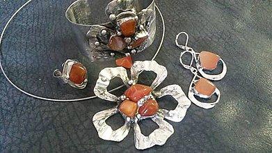Sady šperkov - Darčekova sada šperkov KARNEOL - 7122155_