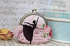 Peňaženky - At the ballet - taštička - 7122643_