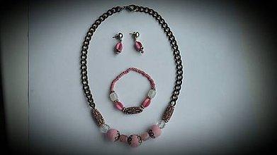 Sady šperkov - náhrdeľník+náramok+náušnice-p - 7121999_