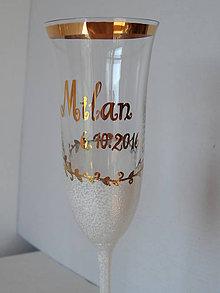 Nádoby - svadobné poháre - 7125628_