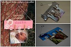 Detské doplnky - Vešiak na fotku - zajačik - 7125045_