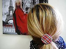 Ozdoby do vlasov - Gumičky do vlasov s buttonkami Magic garden - 7126360_