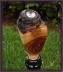 Pomôcky - 33. drevená zátka - SVETLO STROMU 1 - ZIRKON - 7124249_