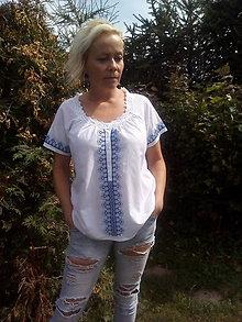 Košele - Vyšívaná košeľa - 7124817_