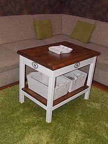 Nábytok - Konferenčný stolík - Krásny domov 60 cm - 7129437_